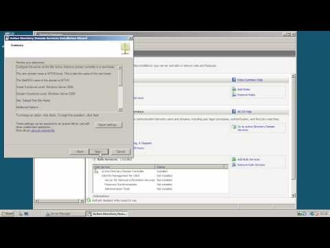 Windows Server 2008 R2 - Урок 1: Установка Active Directory Domain