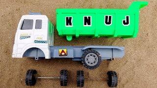 Dump Truck Assembly Game | Rescue Car Team Toys for Children | Car Toys TV