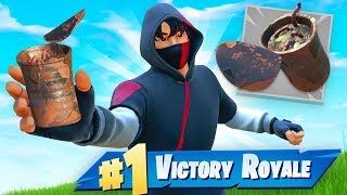 WINNING With Rusty Can ONLY In Fortnite Chapter 2!