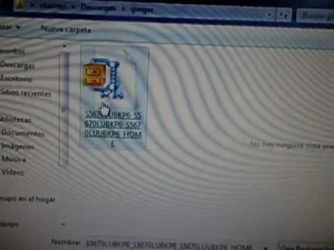 LA MANERA MAS FACIL DE ACTUALIZAR A GINGER 2.3.4 TU GALAXY FIT GT-S5670L
