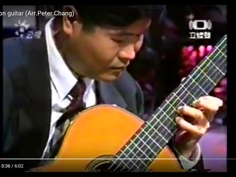 Lai Su:Moon guitar (Arr.Peter Chang)