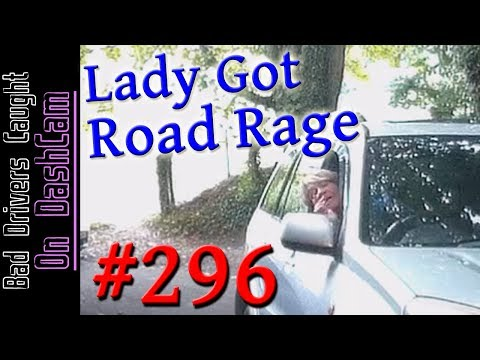 Bad Drivers Dashcam Compilation #296 - Road Rage, Collision, Close Calls and Dumb People