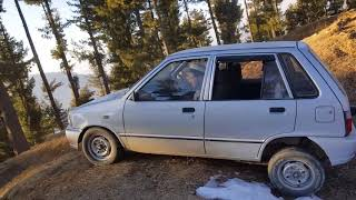 Suzuki mehran off road  shnga top   zaror dakeya