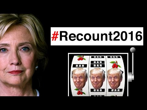 Recount 2016, what happen to peaceful transference of power. The thing is Jill Stein went on record saying we would have a war with Russia if Hillary won, but now is the leader in a aimless...