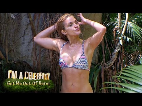 Helen Flanagan and Ashley Roberts Shower Montage | I'm A Celebrity...Get Me Out Of Here!
