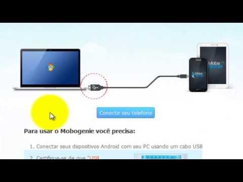 Como usar o Mobogenie [ Português ]