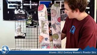 Atomic 2012 Century Women's Powder Skis
