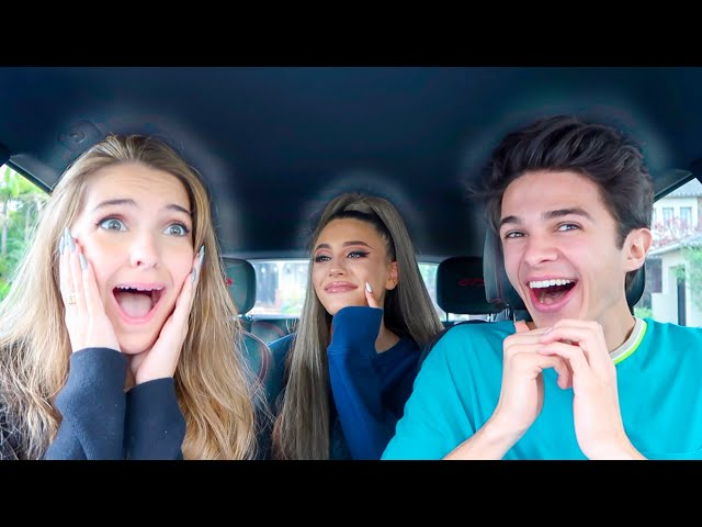 Surprising my Friends with Ariana Grande!? (Pranking ALL my Friends) | Brent Rivera thumbnail