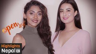 OPEN गफ - Ep 2 With Miss Nepal Winners निकिता चन्दक, नीति शाह, रोजिना श्रेष्ठ,  साहारा बस्नेत
