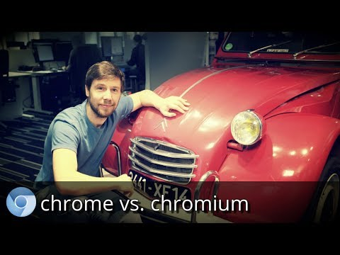 Google Chrome vs. Chromium