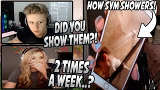 Brooke Shows The PICTURES That Symfuhny Sent Her While Taking His WEEKLY SHOWER! (Speechless)
