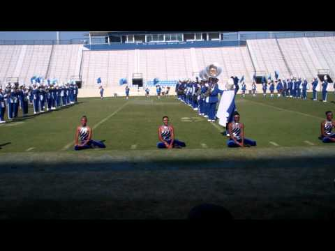 Burke High School Marching Band 2011