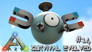 ARK: SURVIVAL EVOLVED - MAGNEMITE BIONIC GIGA & THE GRINCH !!! E14 (MODDED ARK MYSTIC ACADEMY)