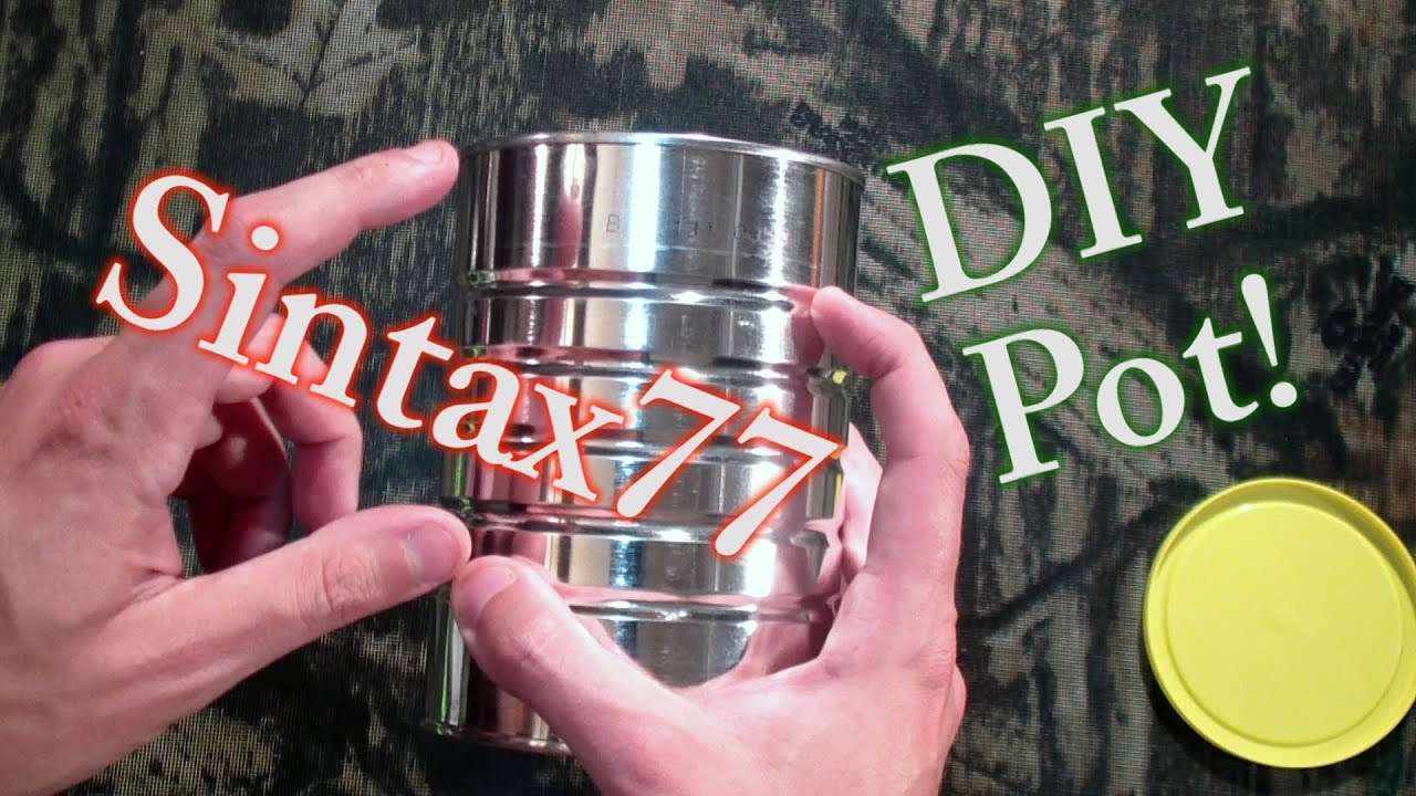 DIY Ultralight Titanium Cook Pot Alternative - YouTube1920 x 1080