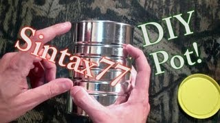 Cooking | DIY Ultralight Titanium Cook Pot Alternative | DIY Ultralight Titanium Cook Pot Alternative