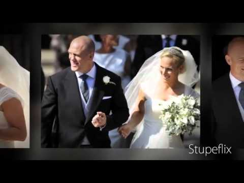 Royal Wedding : Zara Phillips Mike Tindall