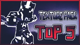 ❤️TOP 5 MINECRAFT PVP TEXTURE PACKS! FPS BOOST/NO LAG/MAX FPS 1.7.X/1.8.X❤️