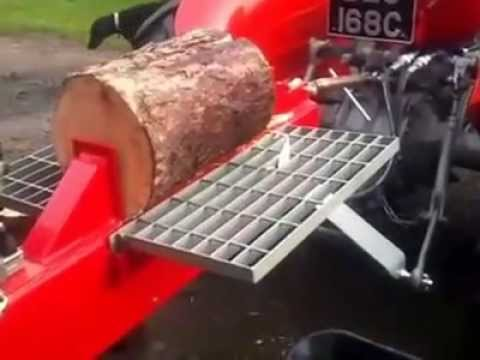 HOME MADE 2 WAY LOG SPLITTER