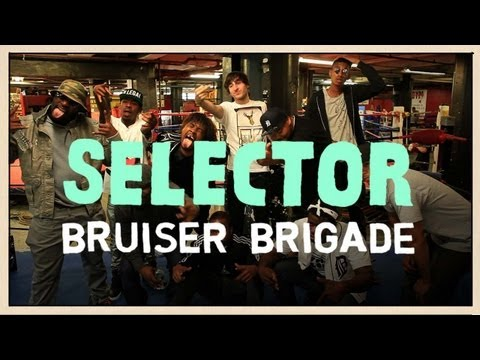 Bruiser Brigade Freestyle at a Boxing Gym - Selector Music Videos