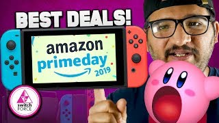 The BEST Switch Deals and Sales for Nintendo on Amazon Prime Day!