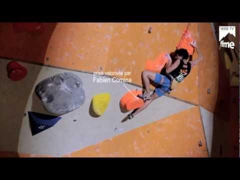 Escalade - Championnats de France 2012 de Difficulté - Finale Hommes - FFME