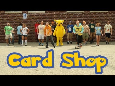 Macklemore Thrift Shop Parody Card Shop Pokémon Rap