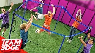 Circular Net Volleyball Challenge!! 🏐