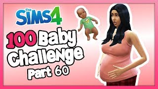 The Sims 4: 100 Baby Challenge with Parenthood - Part 60 - SHES HAVING THE BABY!