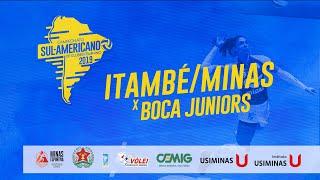 Sul-Americano de Clubes Feminino - Itambé/Minas x Boca Juniors
