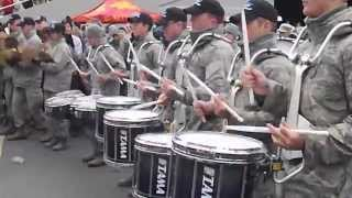 Army Vs Air Force Drum Line Battle Part 1