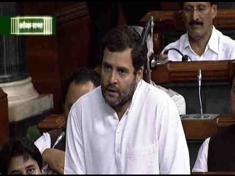 Rahul Gandhi gives adjournment motion in Lok Sabha on crop damage issue due to hailstorm