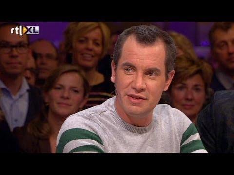 Jeroen van Koningsbrugge 14 kilo afgevallen - RTL LATE NIGHT
