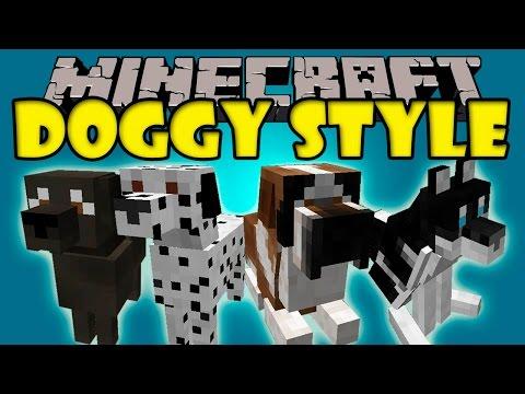DOGGY STYLE MOD Labradores Dalmatas Chihuahuas y mas Minecraft mod 1.7.10 Review ESPAÑOL