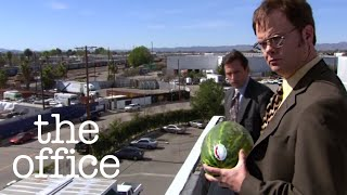 Dwight Schrute Smashes the Watermelon - The Office US