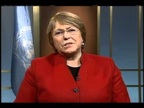 International Women's Day 2012 - Message from UN Women Executive Director Michelle Bachelet (1 min)