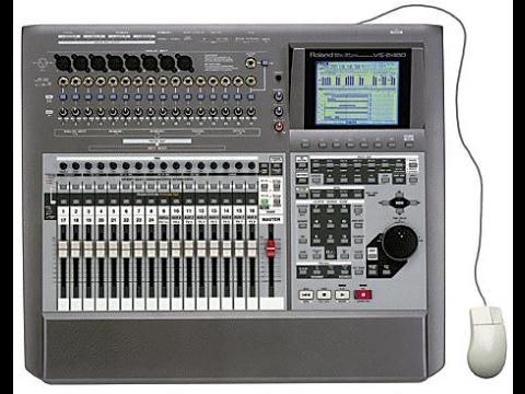 Roland VS2480 convert internal PATA HDD  to SATA  SSD