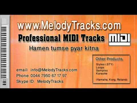 Hamen tumse pyar kitna MIDI - www.MelodyTracks.com