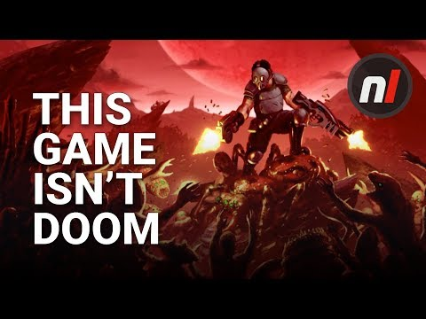 This Game Definitely Isn't DOOM | Crimsonland First Look on Nintendo Switch