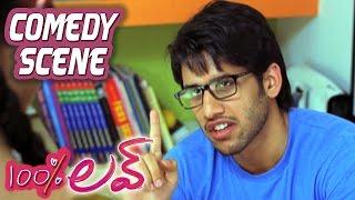 Naga Chaitanya Explaning Infatuation To Tamannah | 100 Percent Love | Comedy Scene