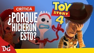 Toy Story 4 - ¿La Peor de Todas? : Critica | Disney Geeks