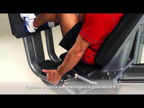 Matrix Fitness Italia: ULTRA Leg Press Italian
