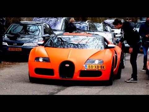 orange bugatti veyron vs lamborghini gallardo lp560 4 acceleration youtube. Black Bedroom Furniture Sets. Home Design Ideas