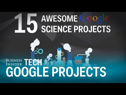 15 Google science projects