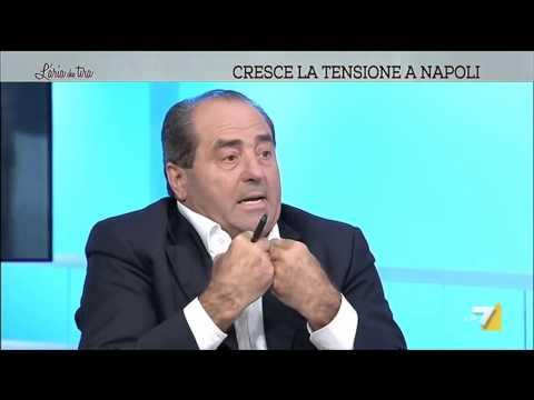 """Di Pietro a De Magistris: """"I giudici non sono criminali, prima vai dal giudice!"""""""