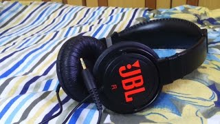 JBL T250SI after 1 day of usage