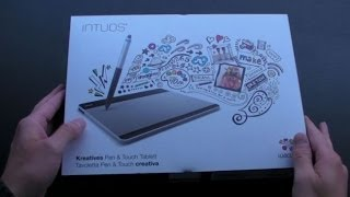 Wacom Intuos Small Creative Pen & Touch Tablet - Unboxing