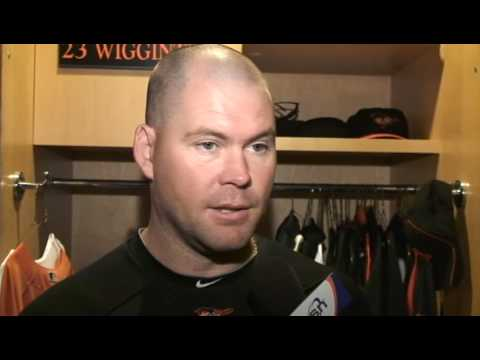 Jen Royle interviews Ty Wigginton on the Orioles' offensive struggles Video