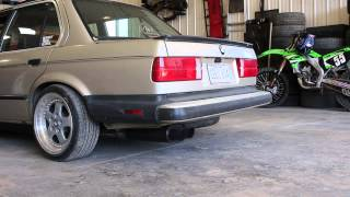 BMW E30 M50 w/ Vibrant Resonator and Streetpower Muffler