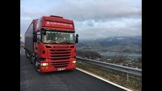 #2 Scania Trucking from Germany to Switzerland