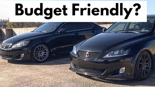 Ownership Costs - Lexus IS 250 and IS 350